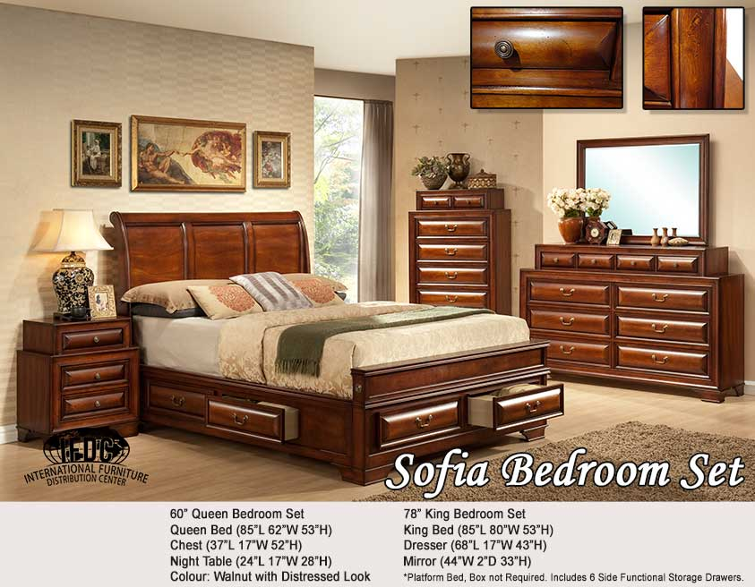 Bedding/Bedroom IF-Bedding/Bedroomset Sofia- Kitchener Waterloo Furniture Store