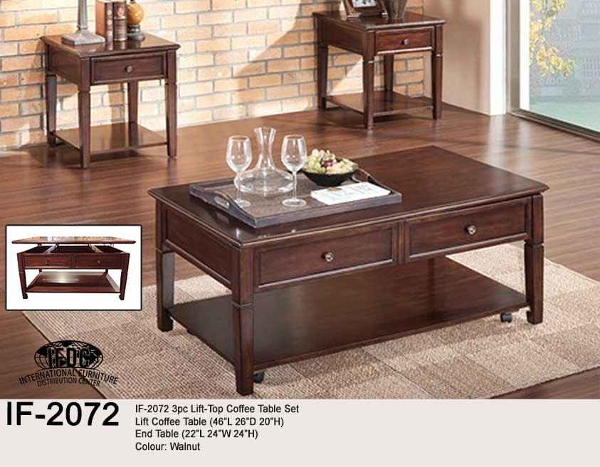 Coffee Tables IF-2072- Kitchener Waterloo Furniture Store